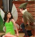 Selena Gomez vestida de Campanita