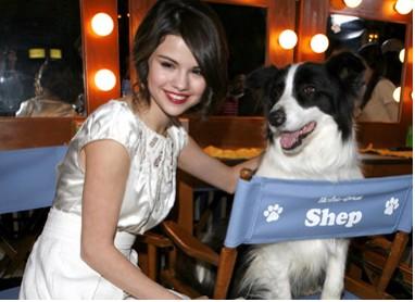 Selena Gomez en la Premier de Hotel for Dogs