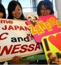 Fans de Zac Efron y Vanessa Hudgens en Japon