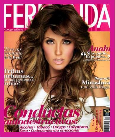 Anahí en Revista Fernanda