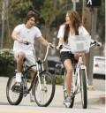 Miley Cyrus con su novio