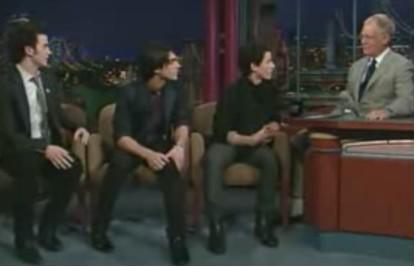 Jonas Brothers en el Show de David Letterman