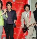 Jonas Brothers en cera