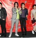 Figuras de cera de Jonas Brothers