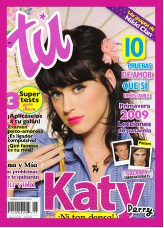 Katy Perry en Revista Tú