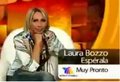 Laura Bozzo de pleito con el Dr. del Villar