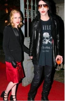 Retoman su romance Evan Rachel Wood y Marilyn Manson