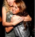 Miley Cyrus con Talor muy amigas