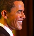 Barack Obama de cera
