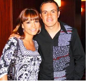 Rossana Najera y cuauhtemoc Blanco