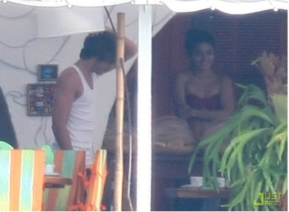 Zac Efron y Vanessa Hudgens en Brasil