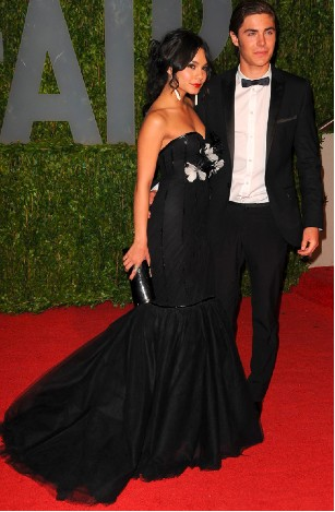 Vanessa Hudgens y Zac Efron en los Oscar