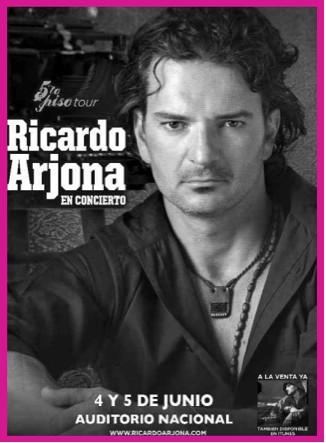 Ricardo Arjona en el Auditorio Nacional