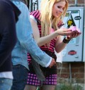 Avril Lavigne en campaña