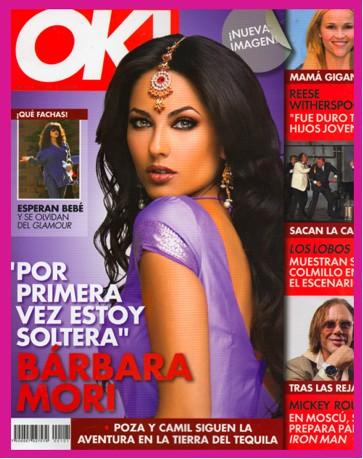Bárbara Mori en Revista OK!