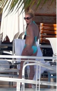 Britney Spears en bikini en Miami