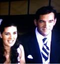 Mayrin Villanueva y Eduardo Santamarina en su boda