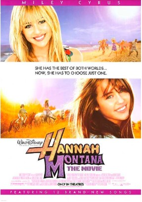 Poster y Trailer de Hannah Montana: The Movie