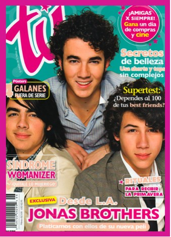 Jonas Brothers en Revista Tú