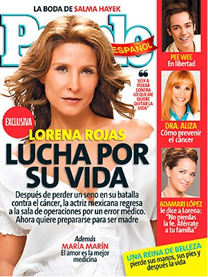 Lorena Rojas en People
