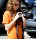 Miley Cyrus fotografa