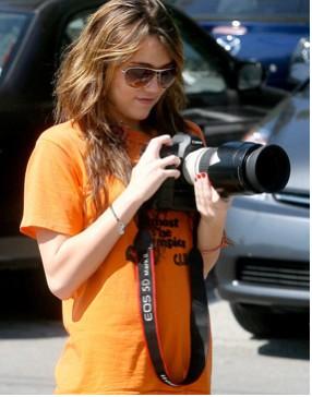 Miley Cyrus desea ser fotógrafa