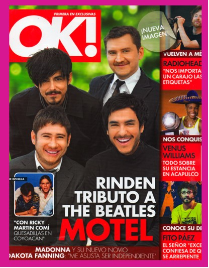 Motel en Revista OK!