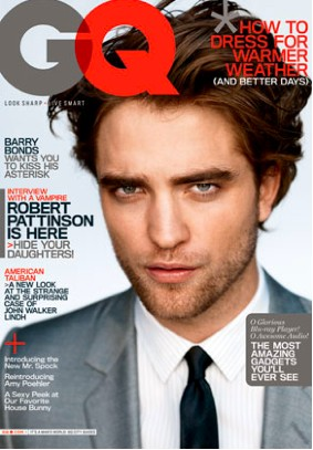 Robert Pattinson en Revista GQ