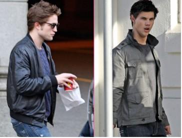 Robert Pattinson y Taylor Lautner en Canadá