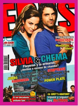 Silvia Navarro y José María en Revista Eres