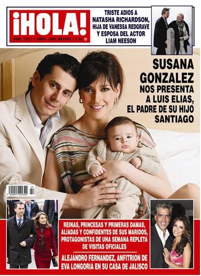 Susana Gonzalez presenta al padre de su hijo en ¡HOLA!