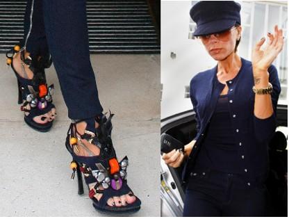 Victoria Beckham y sus zapatos