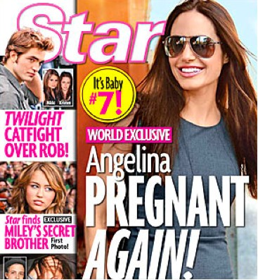 Angelina Jolie embarazada otra vez