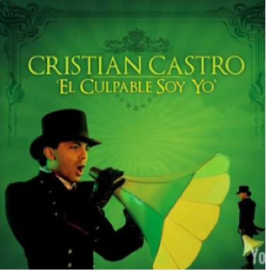Portada de El Culpable soy yo de Cristian Castro