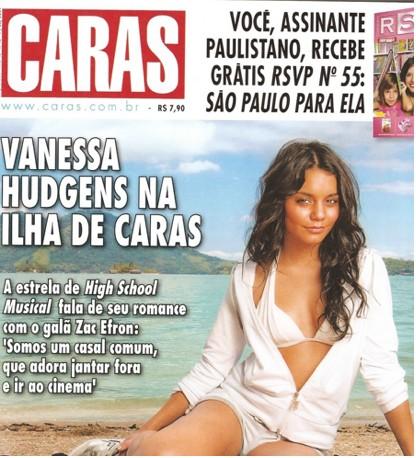 Vanessa Hudgens en Caras
