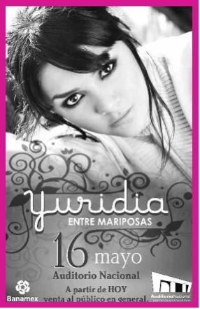 Yuridia en el Auditorio Nacional