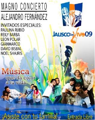 Ofrecerá Alejandro Fernandez Conciertos gratuitos