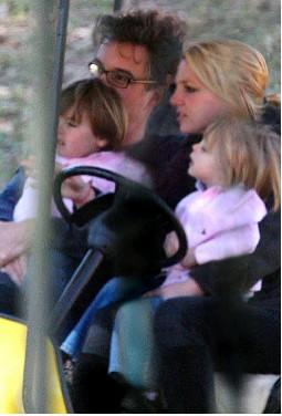 Britney Spears con sus hijos