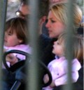 Sean Preston y Jayden James de paseo con Britney Spears