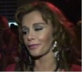Lucía Mendez borracha