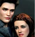 Edward y Bella Muñecos