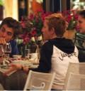 Robert Pattinson en restaurante