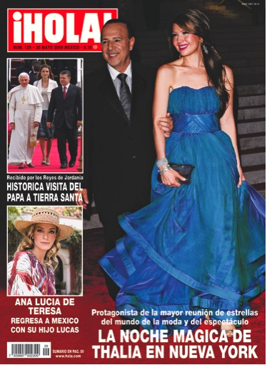 Thalía en Revista HOLA