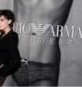 Victoria Beckham en campaña de Armani