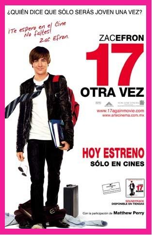 Hoy se estrena 17 Otra vez en México