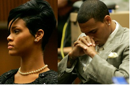 Chris Brown se declara culpable de golpear a Rihanna