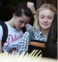 Dakota y Kristen en Los Ángeles