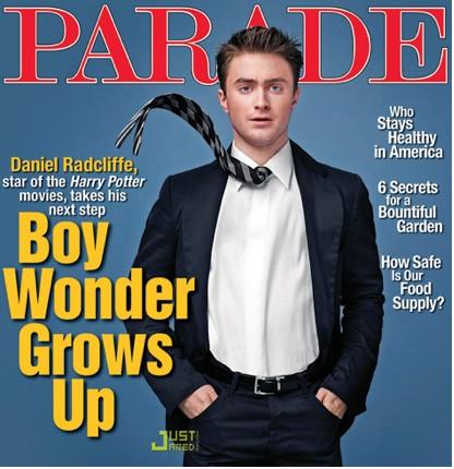 Daniel Radcliffe en Revista Parade