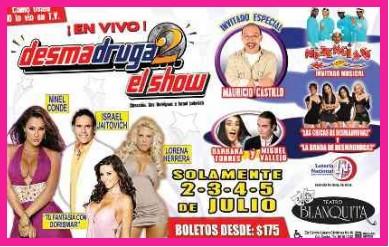Desmadruga2 el Show en Vivo