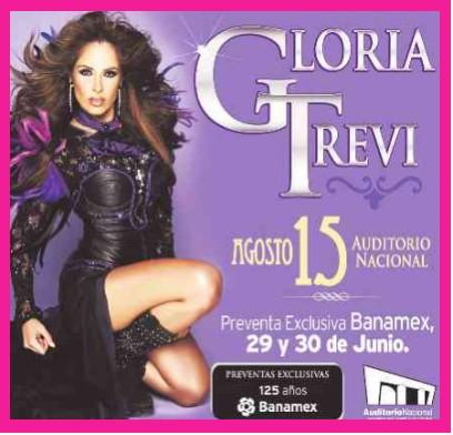 Gloria Trevi en el Auditorio Nacional